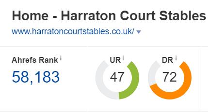 harraton court stables domain authority